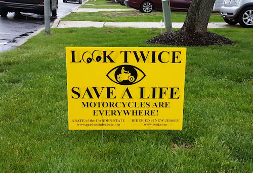 Look Twice Sign